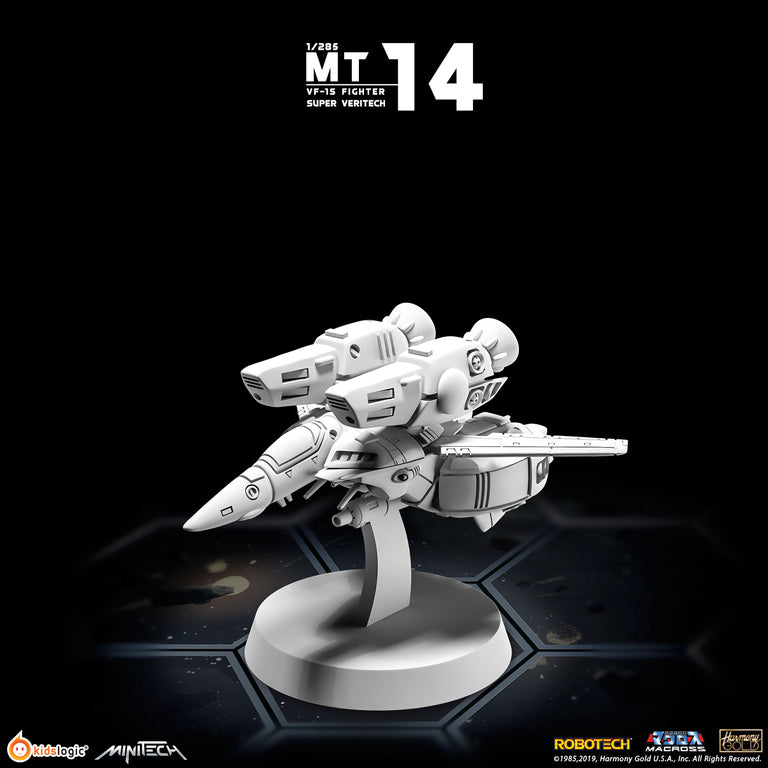 MT14 1/285 Macross VF-1S Super Veritech Fighter Mode