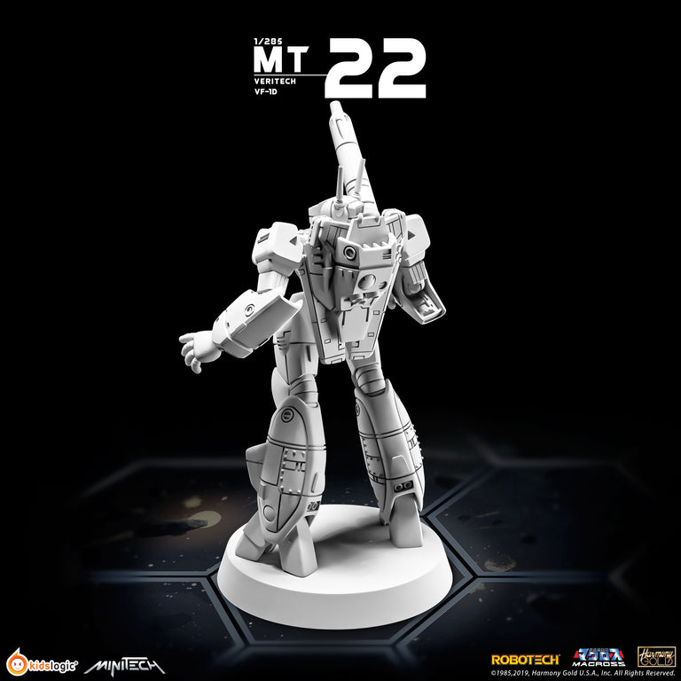 MT22 1/285 Robotech Macross Veritech VF-1D Battloid Mode
