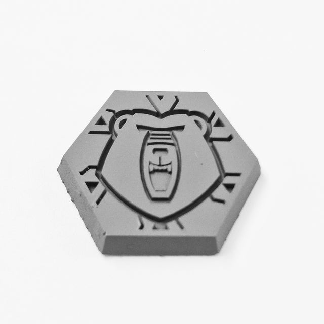 Hex Base - Faction Logo 006 - Bears