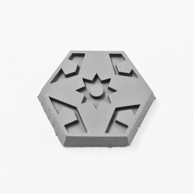 Hex Base - Faction Logo 010 - Defenders