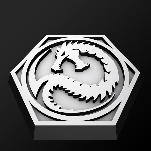 Hex Base - Faction Logo 001 - Dragons