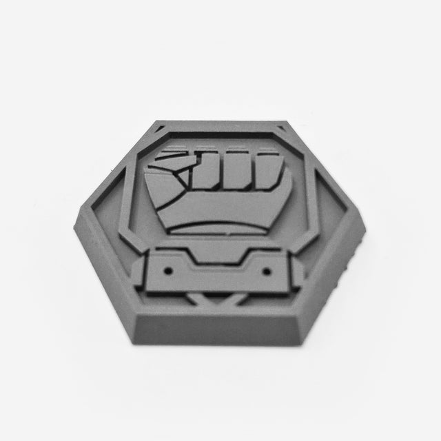 Hex Base - Faction Logo 002 - Hammers