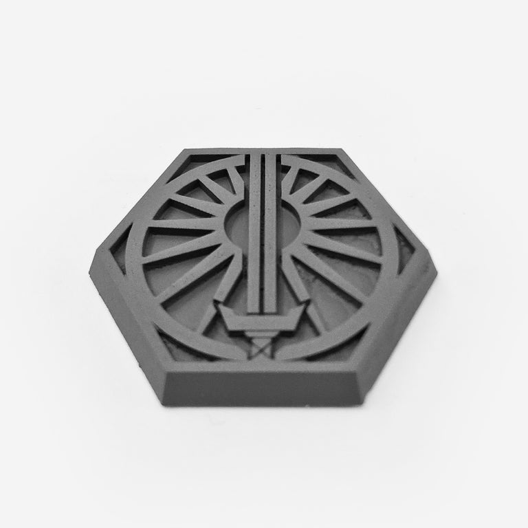 Hex Base - Faction Logo 003 - Suns