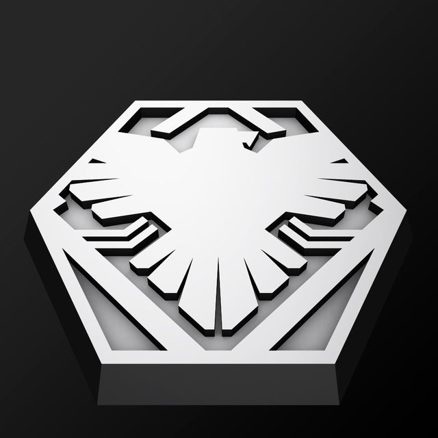 Hex Base - Faction Logo 005 - Eagles