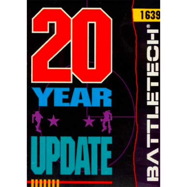SCENARIO PACK: 20 YEAR UPDATE (1989)