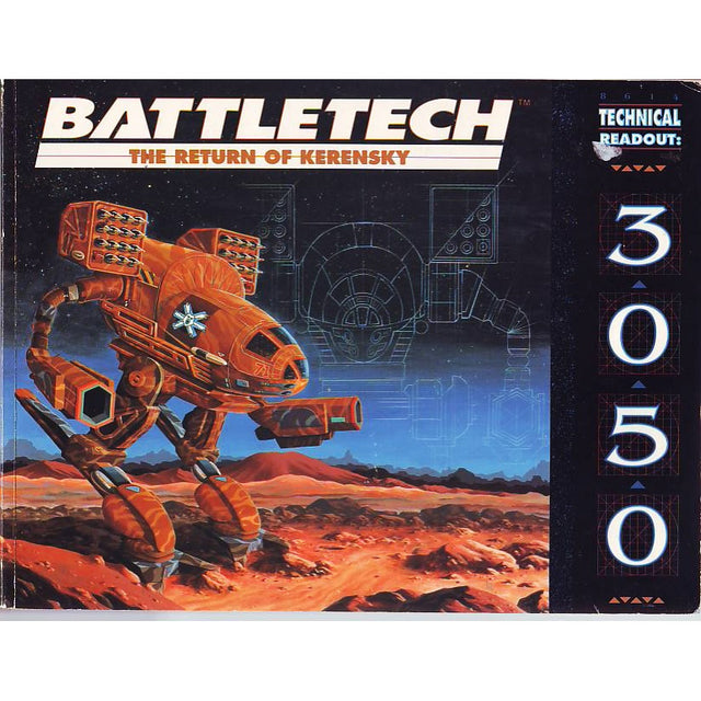 TECHNICAL READOUT: 3050 (1989)