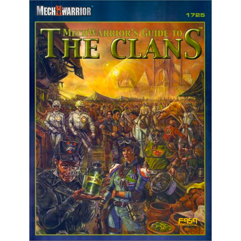 MECHWARRIOR'S GUIDE TO THE CLANS (2001)