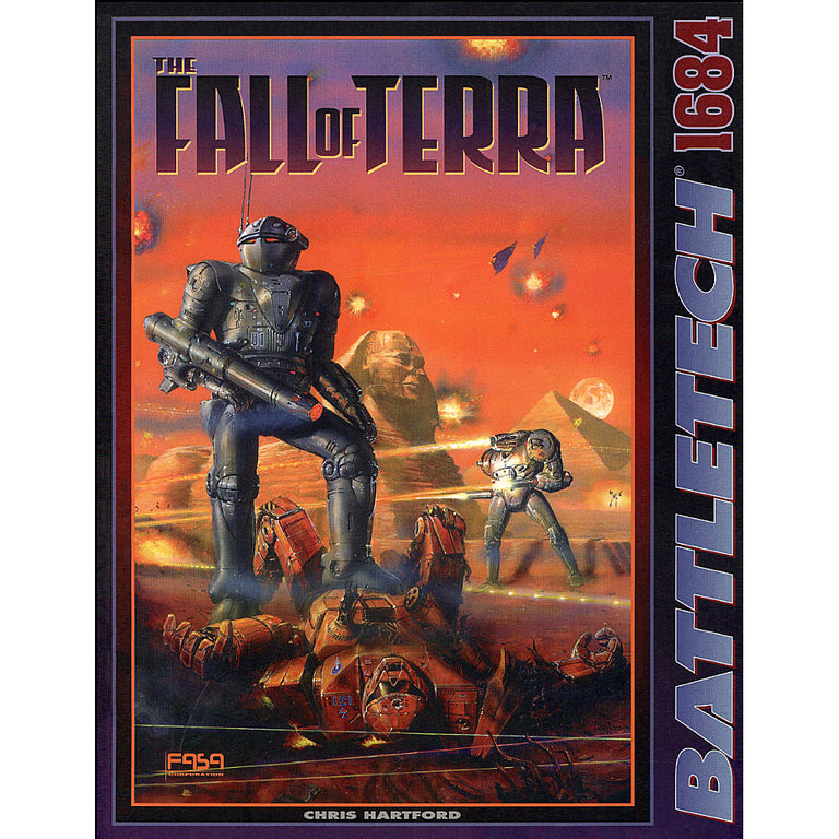 SCENARIO PACK: THE FALL OF TERRA (1996) [USED]