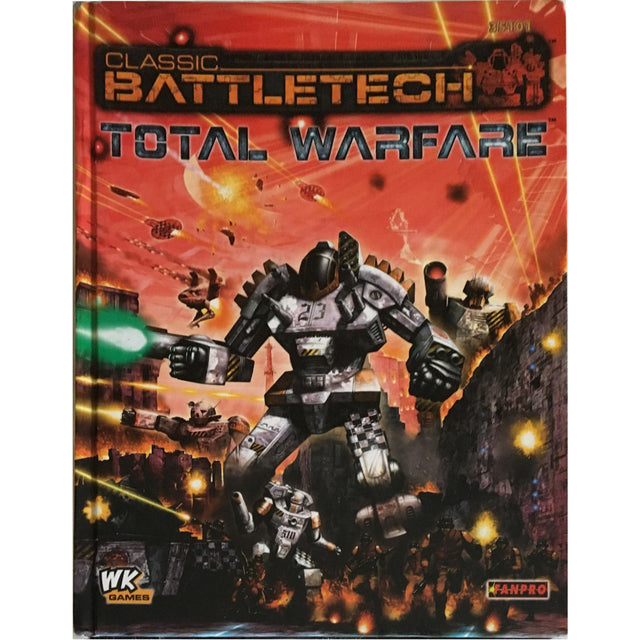 CLASSIC BATTLETECH TOTAL WARFARE (1st PRINT, 2006)