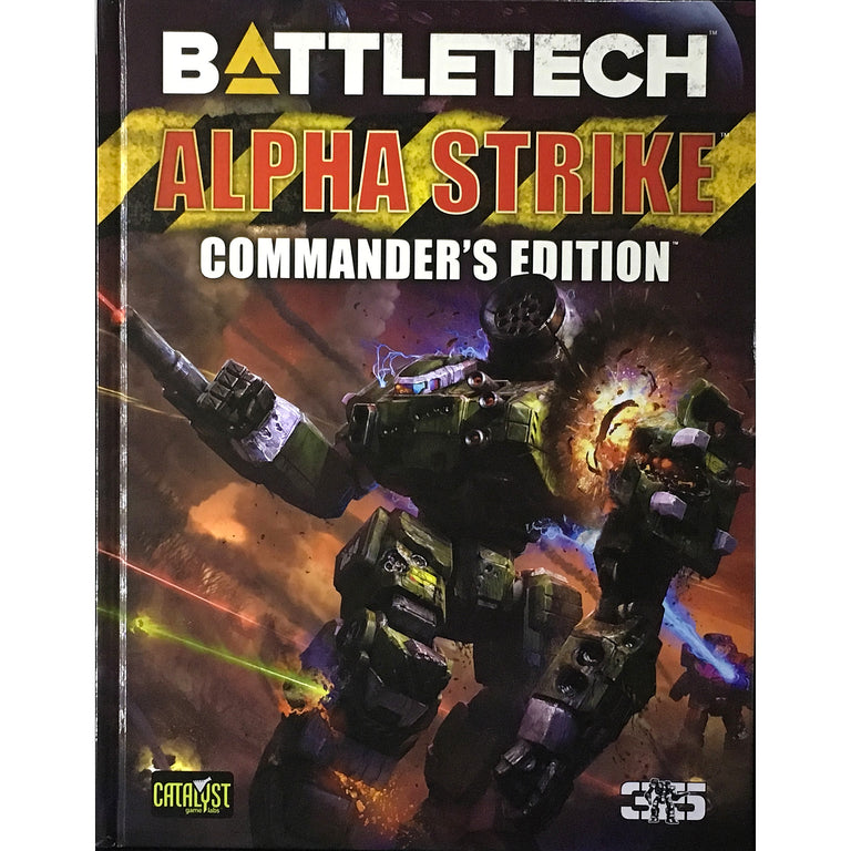 BATTLETECH ALPHA STRIKE COMMANDER'S EDITION