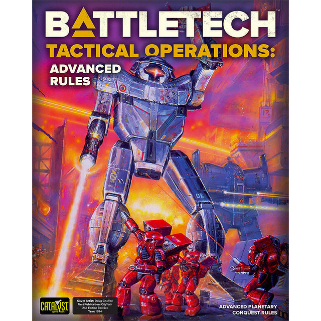 BATTLETECH TACTICAL OPS: ADVANCED RULES