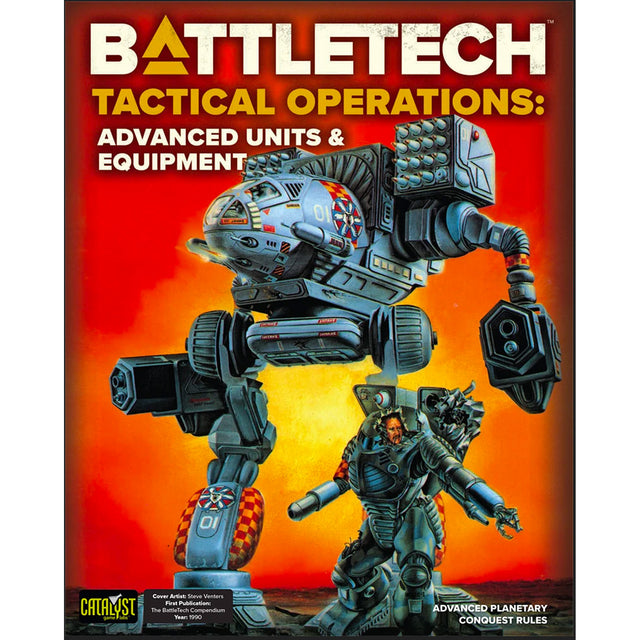 BATTLETECH TACTICAL OPS: ADVANCED UNITS & EQUIPMENT
