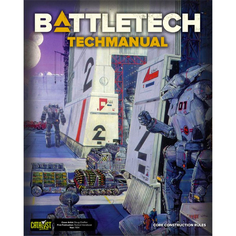 BATTLETECH TECHMANUAL (2019 Edition)