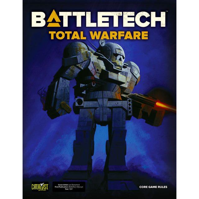 BATTLETECH TOTAL WARFARE (2018 Edition)
