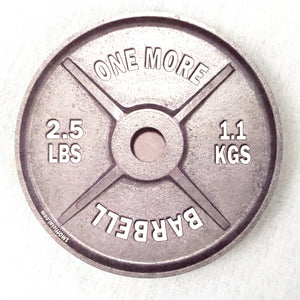 "1M  Official ""ONE MORE"" Barbell Cork Coaster 10 Pack"