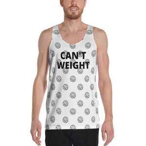 CAN'T WEIGHT 1M All-Over Print Unisex Tank Top