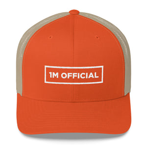 "1M ""I'M OFFICIAL"" Trucker Snapback"
