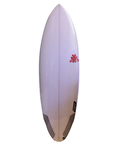 Tabla De Surf BLACK EYE El Ruco Round Tail PU