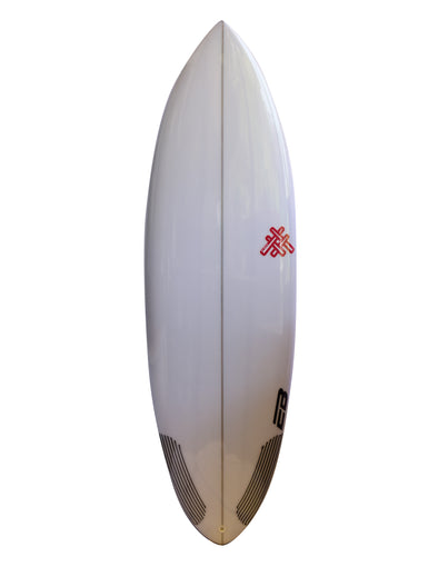 Tabla De Surf Custom Fish El Ruco Round Tail PU