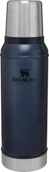 Termo Classic Bottle Stanley Azul Metálico 940ml