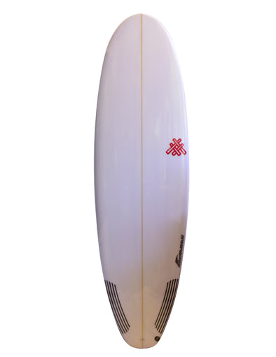 Tabla De Surf Hevy Weight El Ruco Squash Tail PU