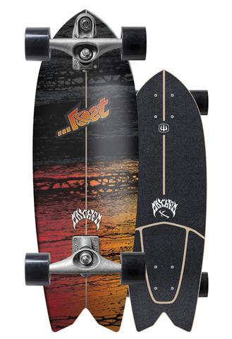 "Carver Lost 29"" Psycho Killer Surfskate"