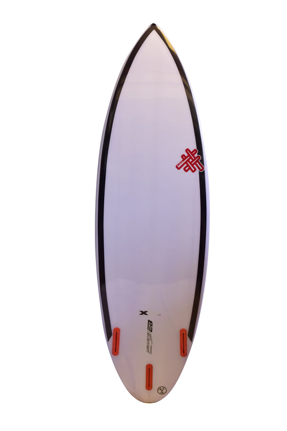 Tabla De Surf XL El Ruco Round Tail Carbonsling