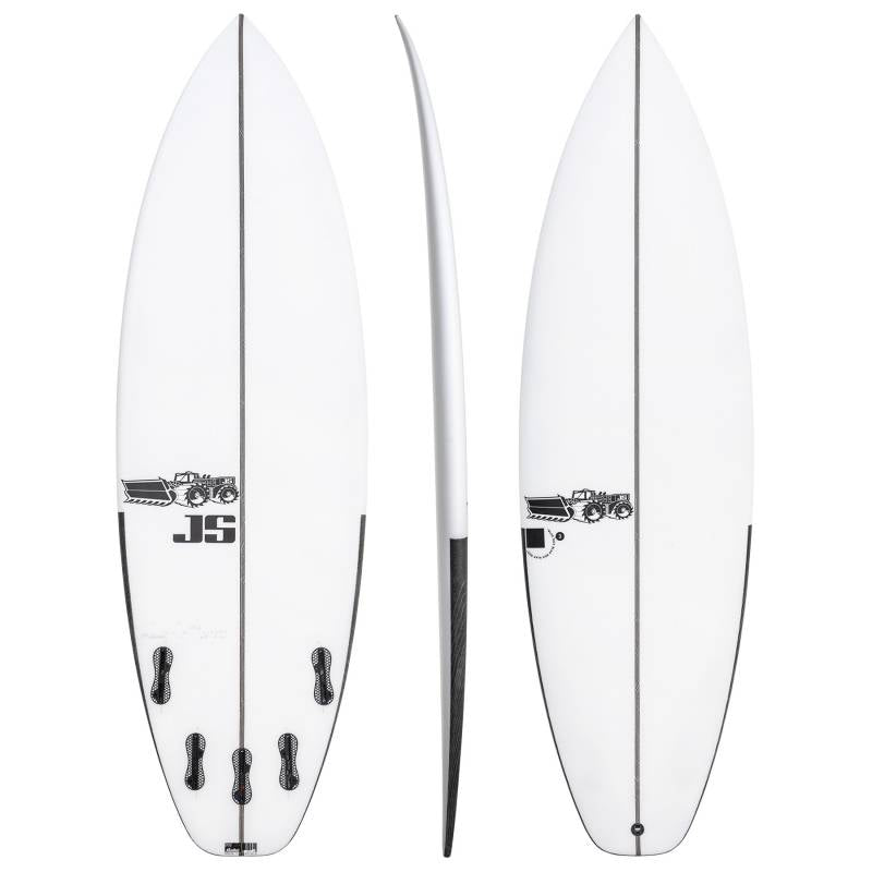 Tabla De Surf Blak Box 3 Squash Tail JS