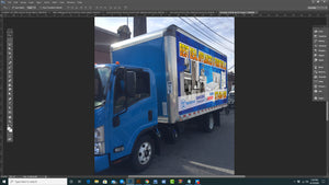 DOWN PAYMENT COMMERCIAL WRAP GRAPHICS ONLINE DESIGN TRUCK