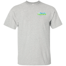 TSUNAMI CHARTERS G200 big print back Gildan Ultra Cotton T-Shirt