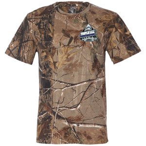 TRIPLE LLL 3980 Code V Short Sleeve Camouflage T-Shirt