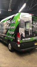 DOWN PAYMENT FOR  COMMERCIAL WRAP - GRAPHICS ONLINE DESIGN VAN MEDIUN ROOF