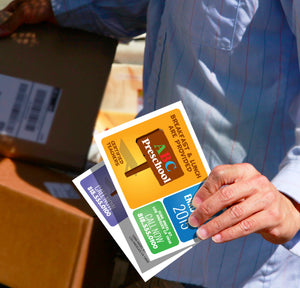 "1000 Post Card glossy finish Custom High Quality full color both side size 7""x 5"""