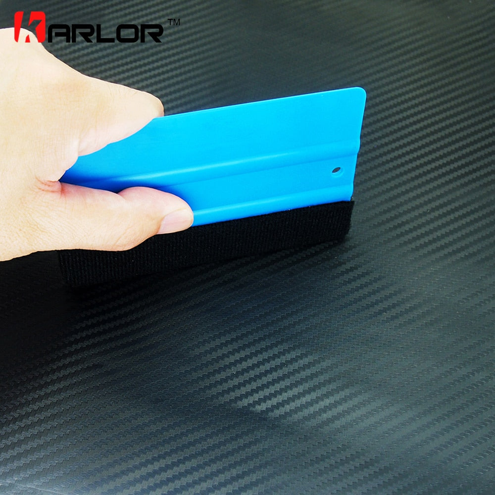 Felt squeegee high quality wrapping scraper with cloth pp sticker scraper car wrap tools felt scarper squeegee auto accessories