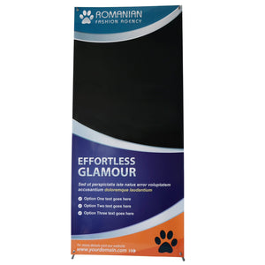 T-Sign Adjustable Heavy duty X Banner Stand Fits Banner Size From