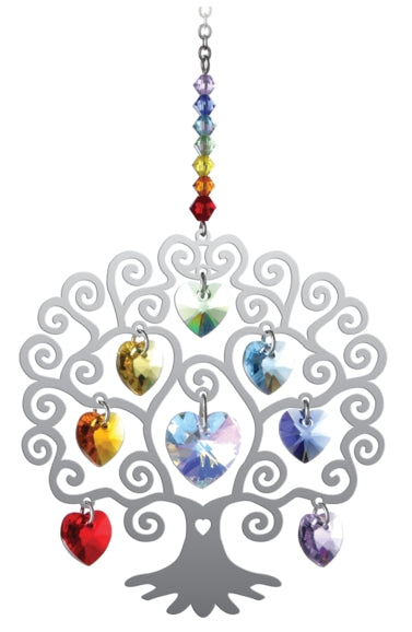Wildthings Crystal Hanger Small Tree of Life