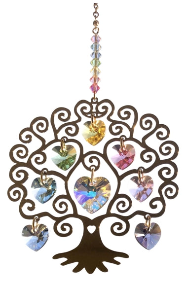 Wildthings Crystal Hanger Small Tree of Life Summer
