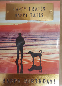 Birthday Card - Happy Tails