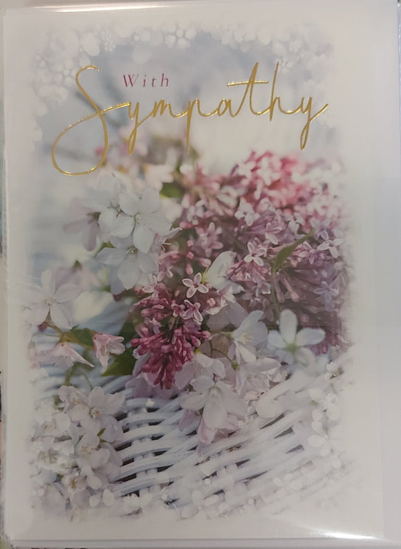 Sympathy Card Basket