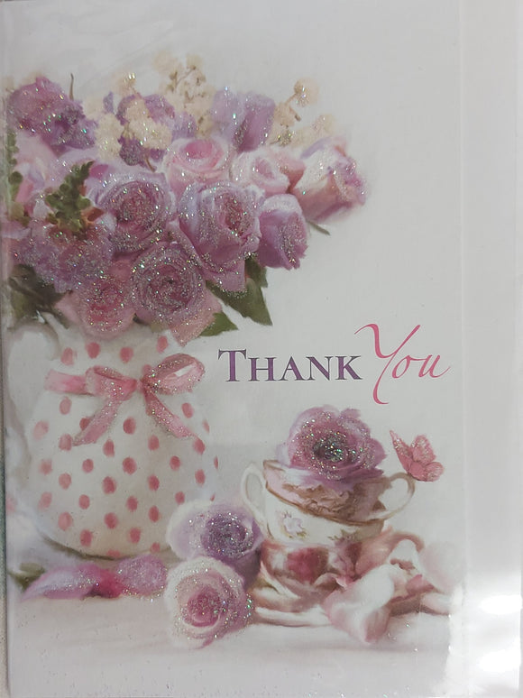 Thank you Card Small Floral