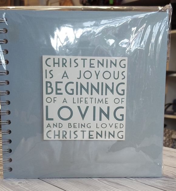 East of India Christening Book
