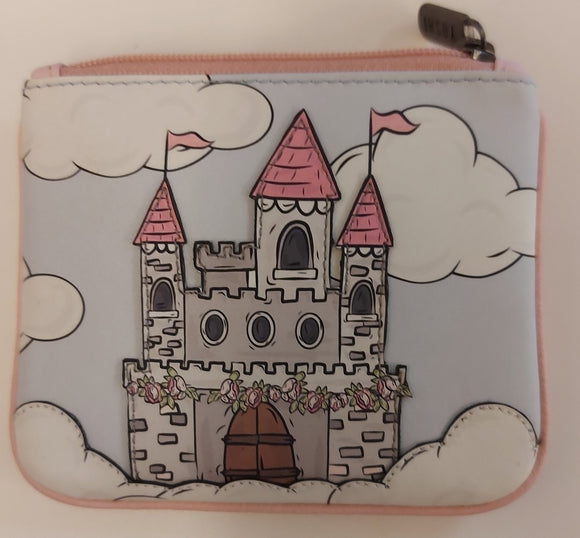 Castle Leather Coin Purse by Yoshi