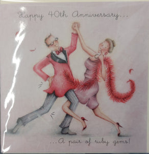 Ruby Wedding Anniversary Berni Parker