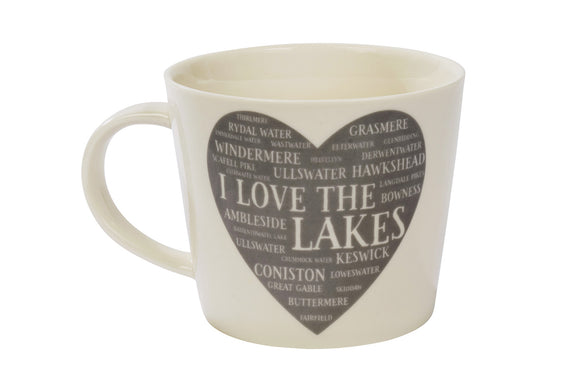 I Love the Lakes Mug