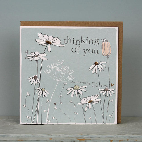 Thinking of You surrounded by Love   Card by Molly Mae