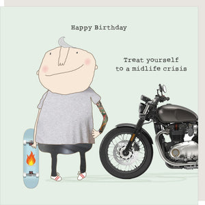 Midlife Crisis Birthday Card by Rosie Made a Thing