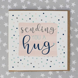Sending You a Hug Card by Molly Mae