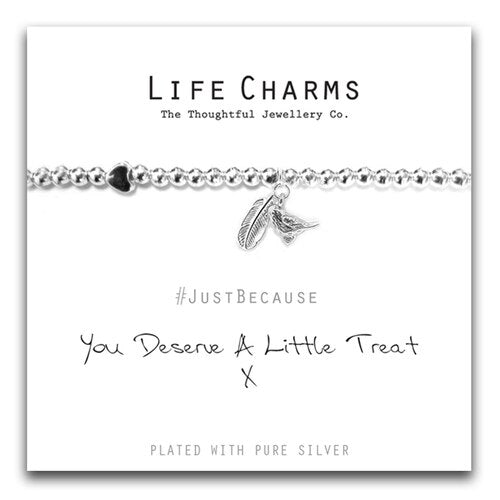 Life Charms - You Deserve A Little Treat Bracelet