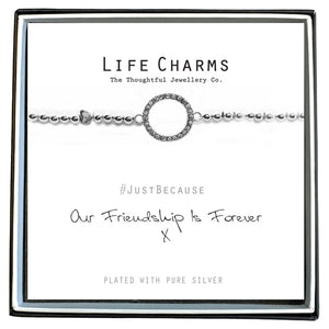 Life Charms - Friendship Forever Bracelet