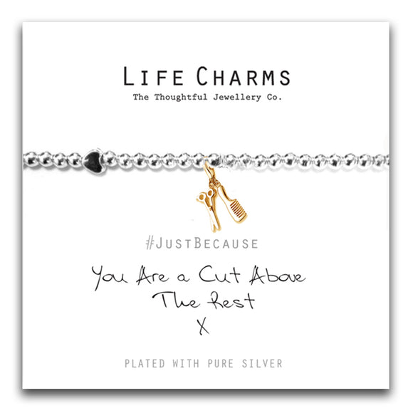 Life Charms -A Cut Above Bracelet